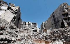 الصورة: غوتيريس وماكرون يطالبان بوقف فوري لأعمال العنف في سورية وحماية المدنيين