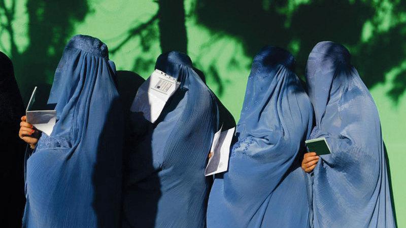 أفغانيات يشاركن في الانتخابات التشريعية. غيتي