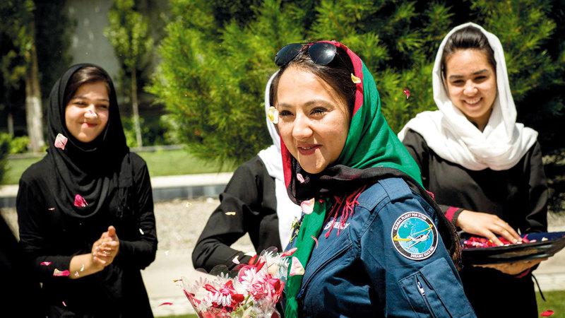 على الرغم من العنف المنزلي نساء أفغانيات  يسعين إلى التحرّر من القيود.  غيتي