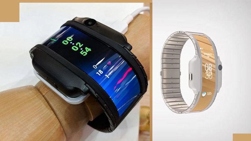 خاصية «القابلية للطي» في الساعة الذكية تتوقف بصفة أساسية على وجود شاشة مرنة. من المصدر