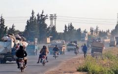 الصورة: الجيش السوري يسيطر على بلدة استراتيجية مشمولة باتفاق روسي - تركي
