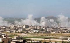 الصورة: المعارضة السورية تشن هجوماً لاستعادة مواقع  في ريف حماة