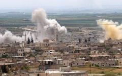 الصورة: منظمات إغاثية تعلق أنشطتها بمناطق التصعيد في إدلب السورية