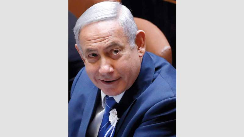 نتنياهو قال للجمهور الإسرائيلي: «لم تنته الحملة، ولكن الأمر يتطلب بعض الصبر والحكمة، ولانزال نستعد للاستمرار».  رويترز