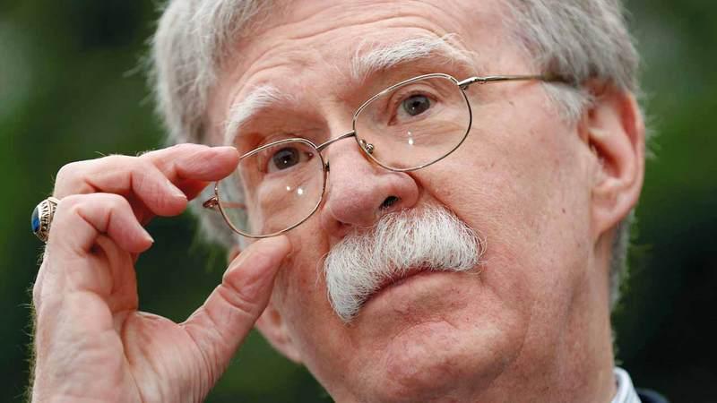 بولتون ينفي نية واشنطن شن حرب ضد إيران.  أ.ب