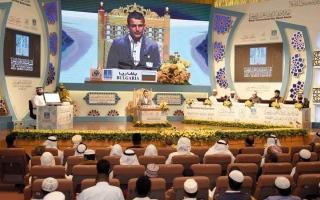 الصورة: منافسة قوية بين المتسابقين للفوز بجائزة دبي للقرآن