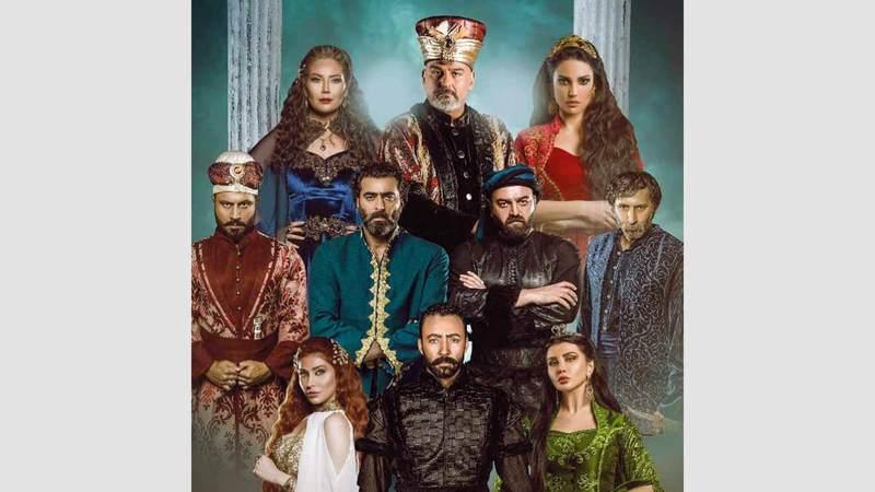 مسلسل «الحرملك» استقطب العديد من النجوم العرب.  أرشيفية