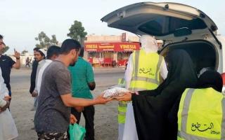 الصورة: 370 متطوعاً يشاركون في تنفيذ 6 مشاريع رمضانية بالشارقة