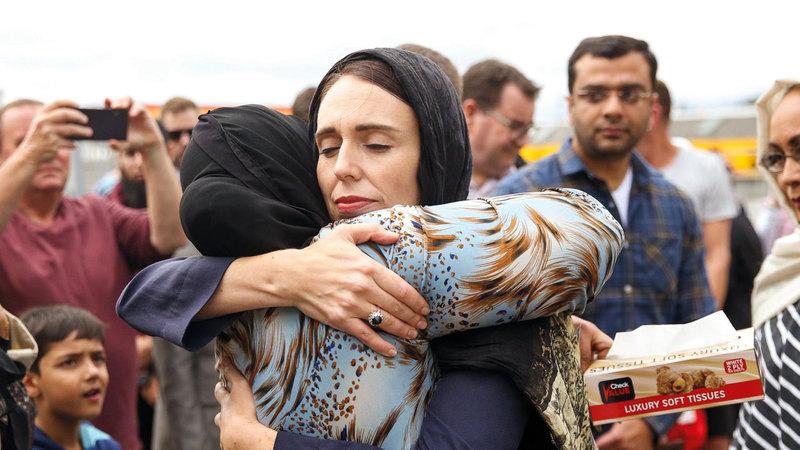 جاسيندا أرديرن ترغب في تكوين جبهة ضد التطرف والإرهاب عبر العالم.  غيتي