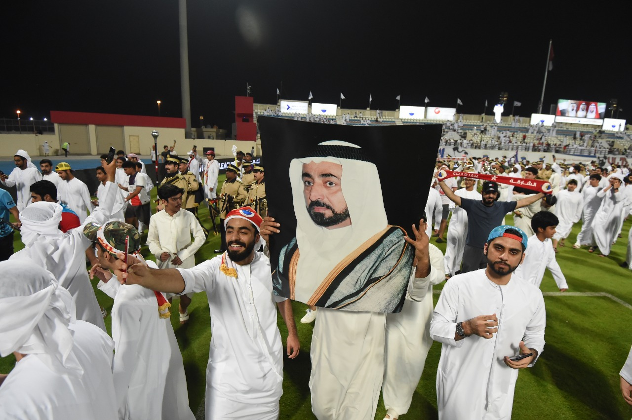 ec700d613 بالفيديو والصور: الشارقة يحسم لقب الدوري بصعقة كهربائية - الإمارات اليوم