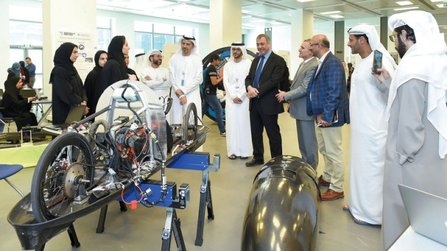 Khalifa students showcase 70 projects at Innovation Show