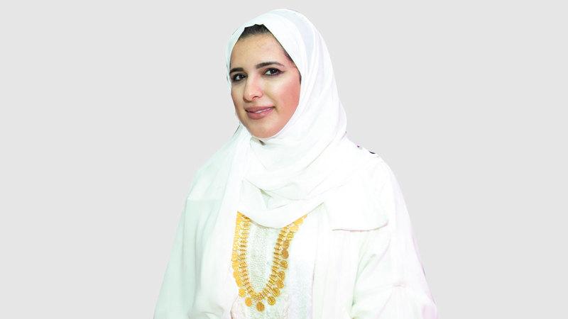 عفراء الشيبة:  «يُمكننا من خلال المعرض تقديم أعمالنا بهدف  إنساني يتخطى حدود الإمارات».