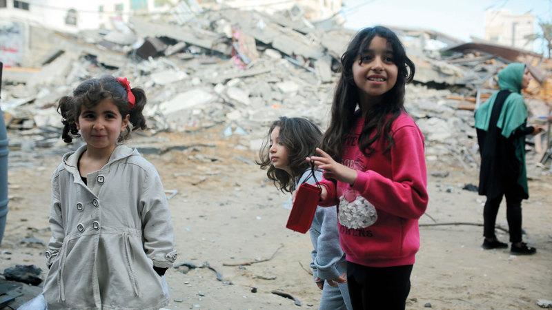 العملية الإسرائيلية حرمت عائلات الشهداء من البهجة.  من المصدر