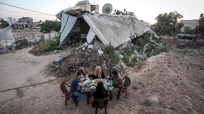100 وحدة سكنية في غزة دُمرت بشكل كامل و70 أصيبت بأضرار بليغة. الإمارات اليوم