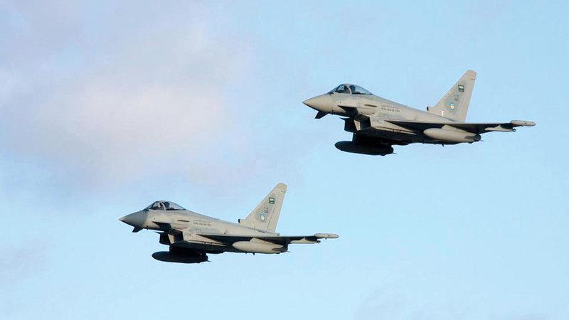 الطلعات الجوية لمقاتلات التحالف حقّقت أهدافها.      أرشيفية