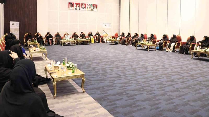 مجلس الداخلية النسائي في عجمان. من المصدر