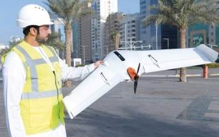 الصورة: بلدية أبوظبي: طائرة المسح الجوي لن تنتهك خصوصية المنازل