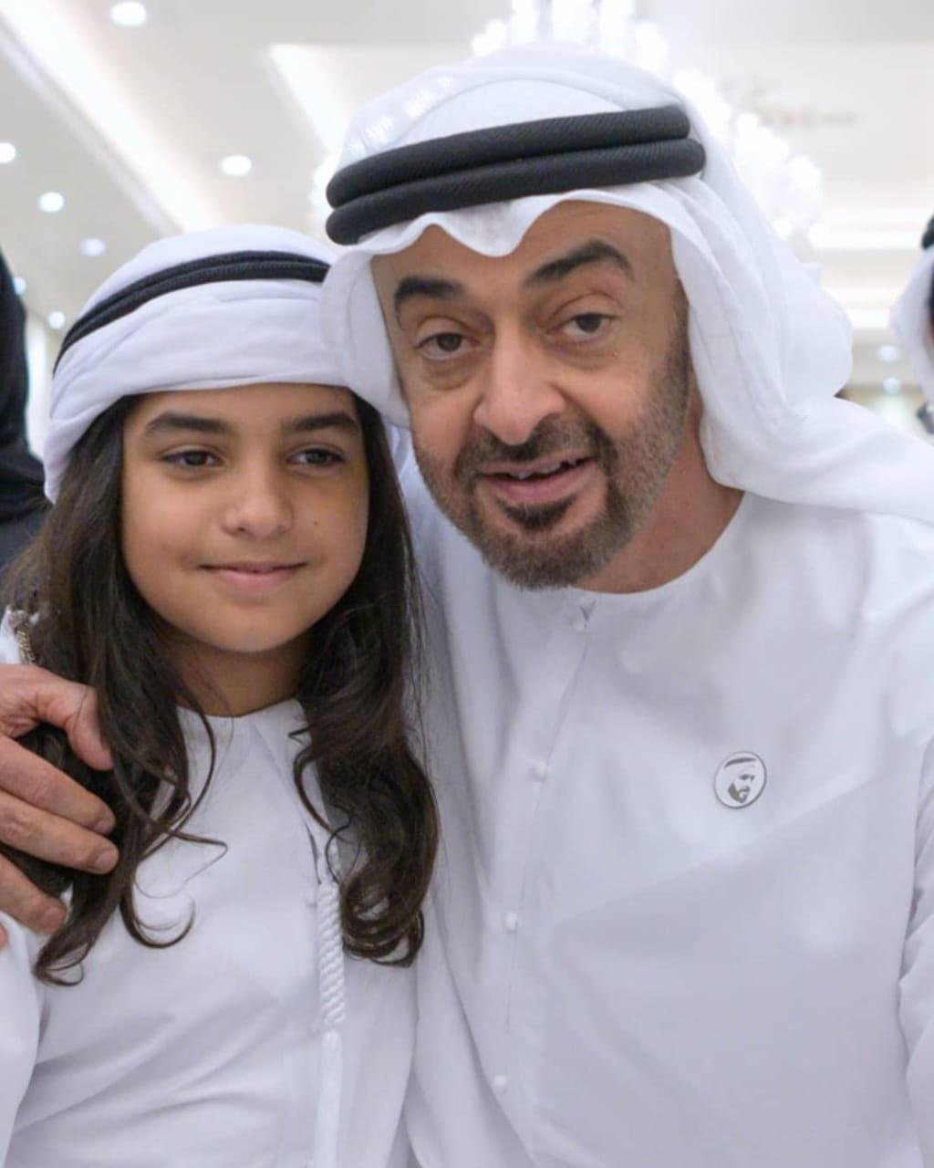 نتيجة بحث الصور عن محمد بن زايد والطفل عمر