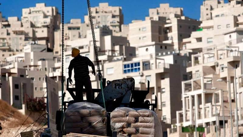 إسرائيل تقتطع الأراضي الفلسطينية منذ عقود.  أ.ب
