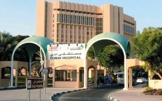الصورة: إنقاذ حياة مريض نيجيري من سرطان الحنجرة في مستشفى دبي