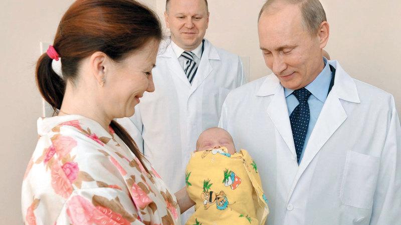 بوتين خصص أموالاً طائلة لاستقدام المزيد من المهاجرين.  أرشيفية