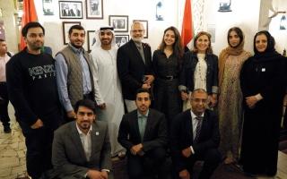 الصورة: «العالمي لشباب الإمارات» في لندن ينظم «إفطار القيم الإماراتية»