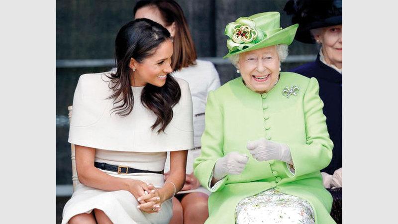 علاقة ميغان والملكة «تعتبر حديثة كثيراً وربما لاتزال في مرحلة التشكيل».