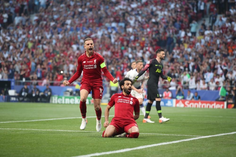 بالصور: محمد صلاح يتوج ليفربول بطلاً لدوري أبطال أوروبا Image