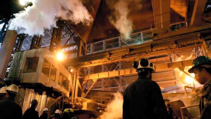 إجمالي المنتجات المعدنية في إيران تجاوز نحو 65 مليون طن العام الماضي تم تصدير 8 ملايين طن منها. أرشيفية