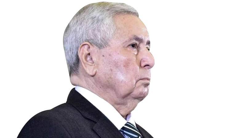 الرئيس المؤقت عبدالقادر بن صالح.  أرشيفية