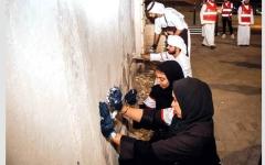 الصورة: 5000 متطوع شاركوا في الحملة الرمضانية لمؤسسة الإمارات