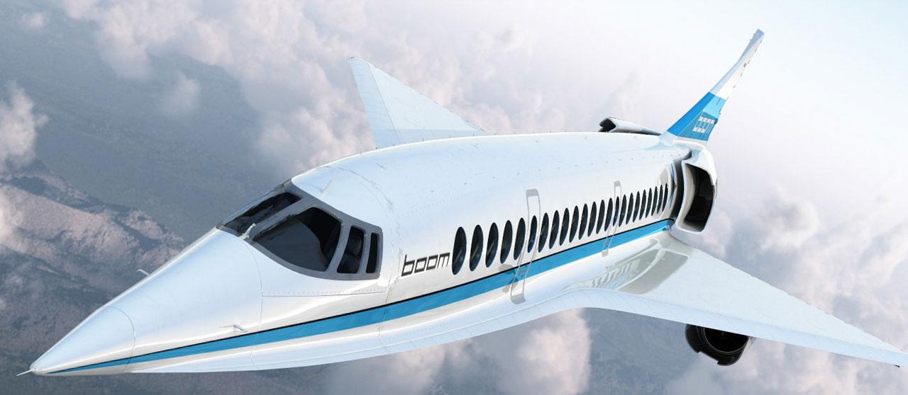 طائرة Boom Supersonic قادرة على الطيران بسرعة ماخ 2.2