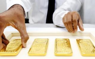 الصورة: الذهب يستقر بعد نزوله من ذروة 15 أسبوعاً