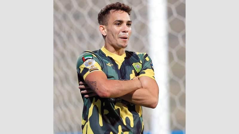 النجم البرازيلي أحرز أكثر من 100 هدف للوصل. من المصدر