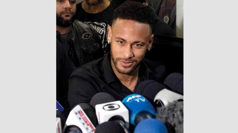 لاعب المنتخب البرازيلي نيمار. أ.ف.ب