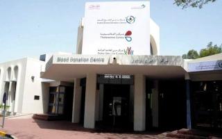 الصورة: «صحة دبي» تجمع 3000 وحدة دم خلال شهر رمضان