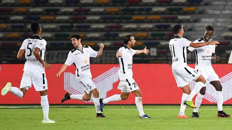 محمد هلال: فريق عجمان يتطوّر من موسم إلى آخر. تصوير: إريك أرازاس