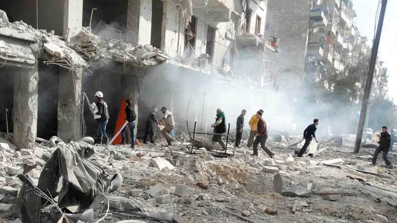 نظام الأسد لن يتسامح مع معارضيه.  أ.ف.ب