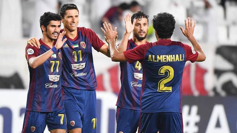 الوحدة أنهى مسابقة الدوري في المركز الثالث برصيد 46 نقطة. تصوير: إريك أرازاس