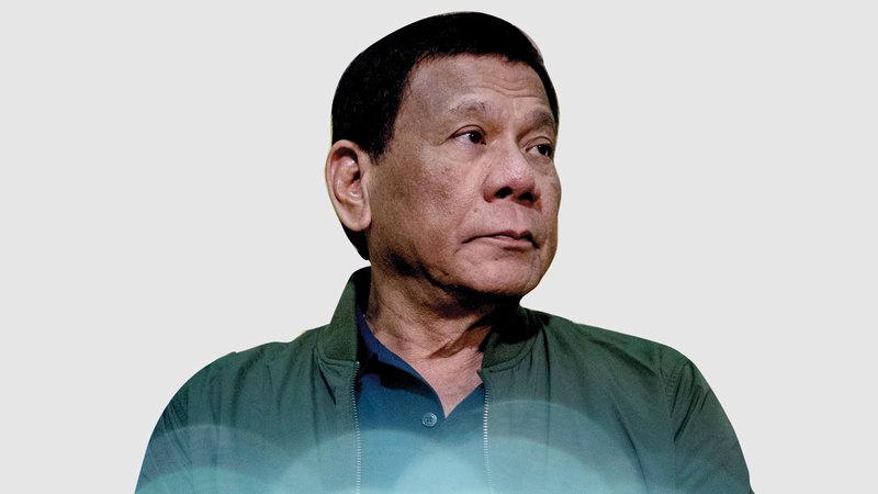 الرئيس الفلبيني.  رويترز