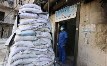 الصورة: «مجانين حلب» .. دموع وهتافات ما بين الحزن والخوف