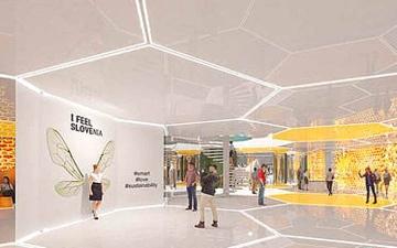 الصورة: سلوفينيا تستعرض «سياحة النحل» في «إكسبو دبي 2020»
