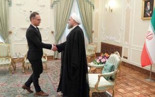 الصورة: وزير الخارجية الألماني يفشل   في إنقاذ الاتفاق النووي مع إيران