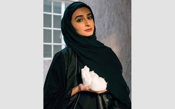 الصورة: خولة درويش.. «قلب» يختزن الحزن والفرح