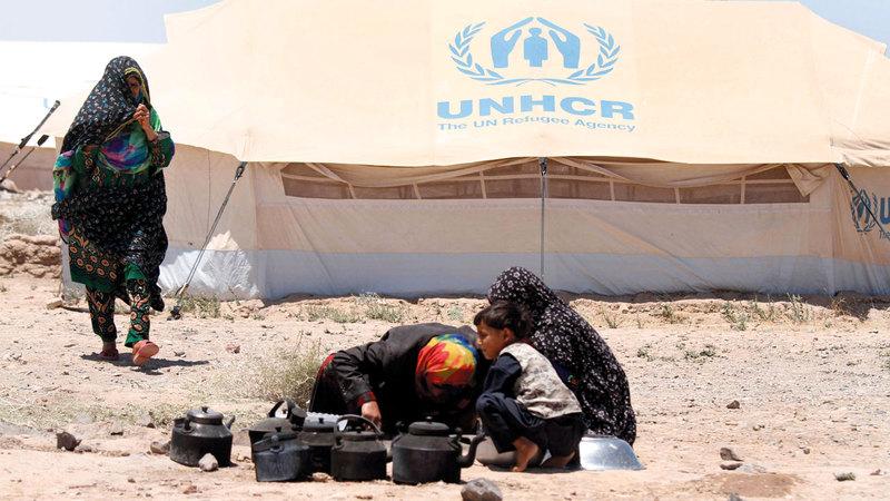افغانستان من اكثر الدول تصدر اللاجئين. اي.بي.ايه
