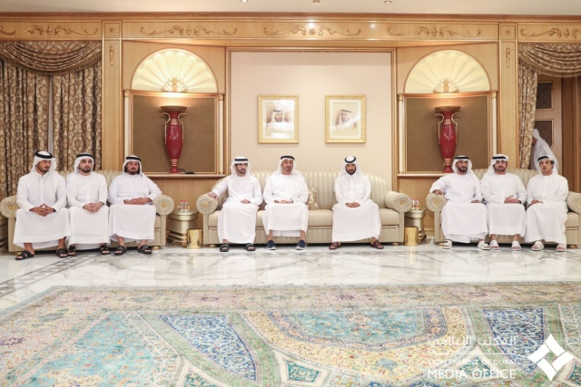 Mohammed bin Zayed and Sheikhs offer condolences on the