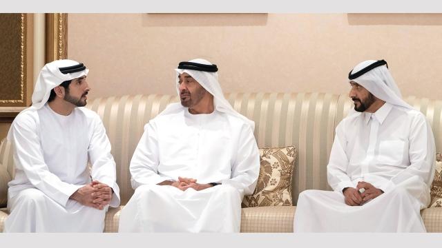 Mohammed bin Zayed and Rulers of Ajman, Fujairah and Ras Al Khaimah