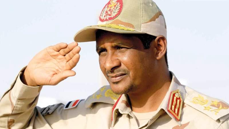 حميدتي أصبح صاحب الكلمة في السودان. أ.ف.ب