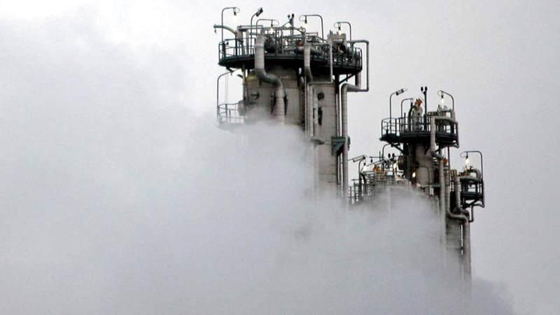 منظر عام لمفاعل أراك للماء الثقيل.  أ.ف.ب