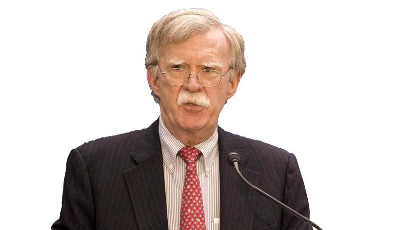 بولتون لإيران: «(التعقل) الأميركي ليس ضعفاً».